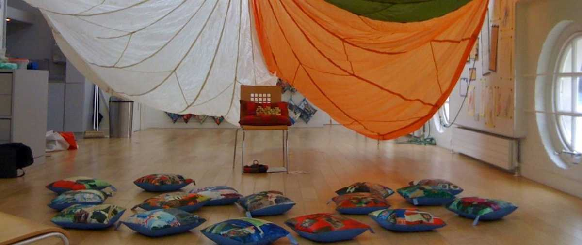 The Clore Learning Centre set up for an early years activity at the Old Royal Naval College, Greenwich © ORNC